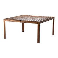Стол садовый ЭПЛАРО коричневая морилка ИКЕА, IKEA, фото 1