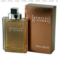 Nina Ricci Memoire D`Homme туалетная вода объем 100 мл тестер (ОРИГИНАЛ)