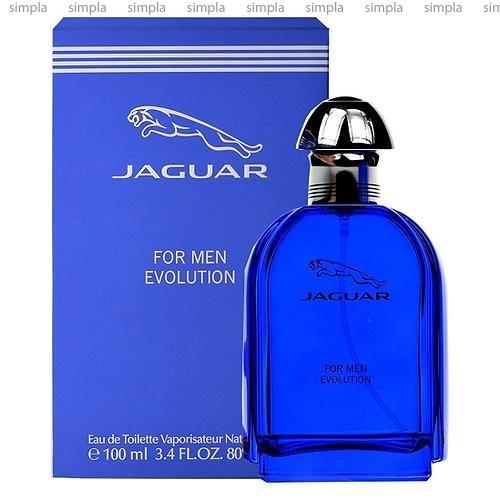 Jaguar Evolution For Men туалетная вода объем 100 мл (ОРИГИНАЛ)