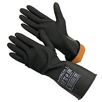 Перчатки резиновые технические, КЩС тип 1, Gward ACID 1