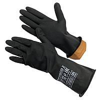 Перчатки резиновые технические, КЩС тип 2, Gward ACID 2
