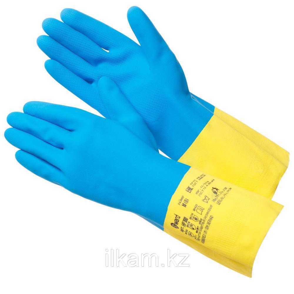 Перчатки химстойкие, латекс+неопрен, Gward HP300