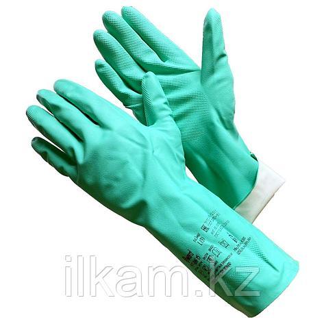 Перчатки химически стойкие нитриловые, Gward RNF15, фото 2