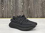 "Кроссовки Adidas Yeezy Boost 350 V2 ""Black Reflictive"", фото 2"