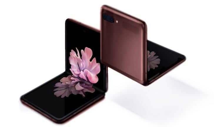 Samsung Galaxy Flip Z 8GB/256GB Brown