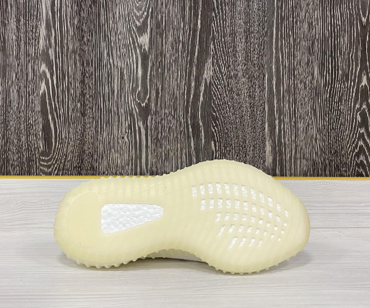 Кроссовки Adidas Yeezy Boost 350 V2 Full White - фото 5