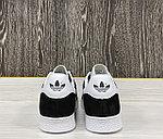 Кеды Adidas Gazelle (Black), фото 5