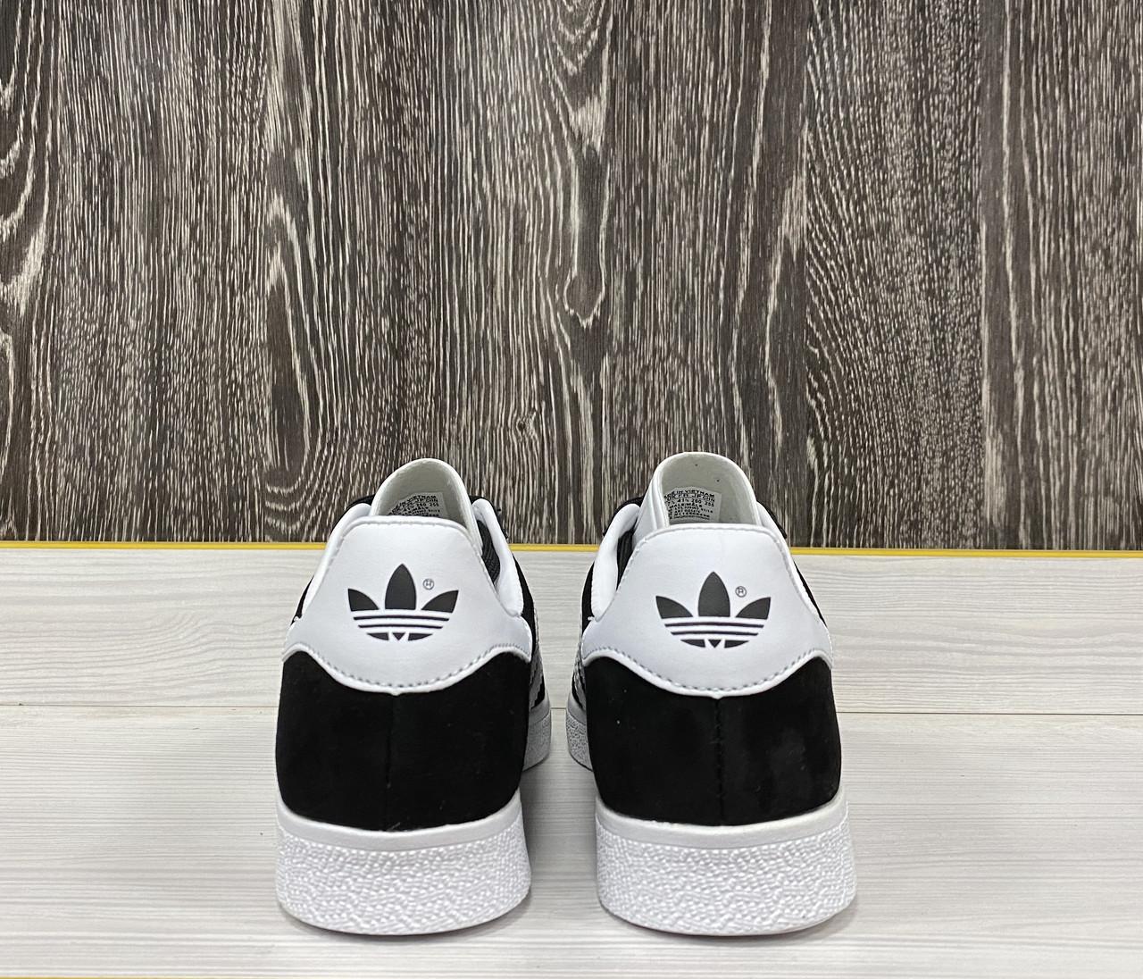 Кеды Adidas Gazelle (Black) - фото 5
