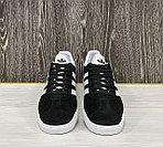 Кеды Adidas Gazelle (Black), фото 4