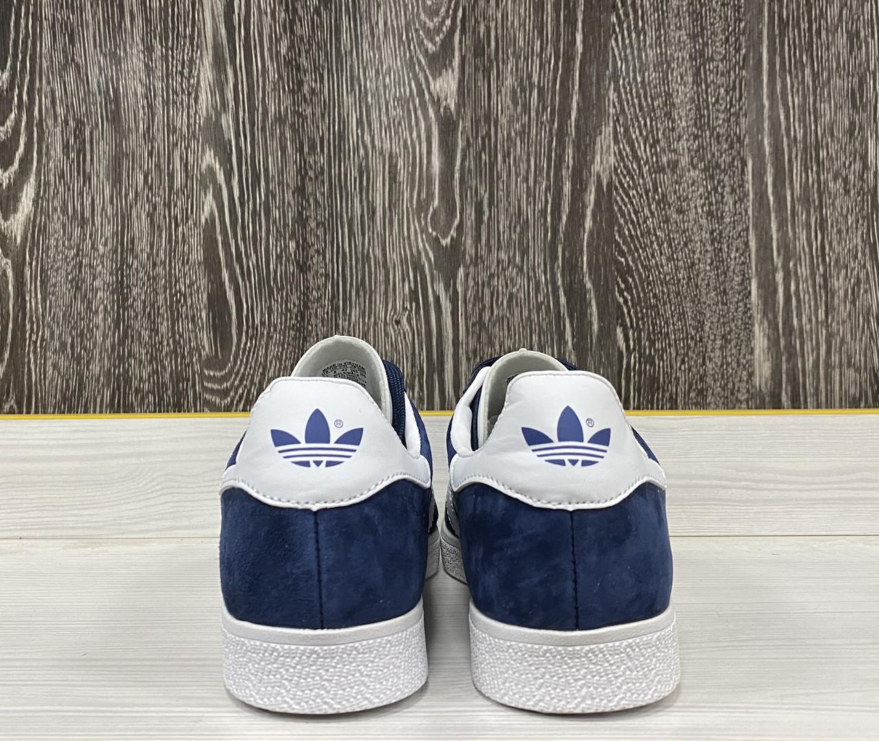 Кроссовки Adidas Gazelle(Dark Blue) - фото 5