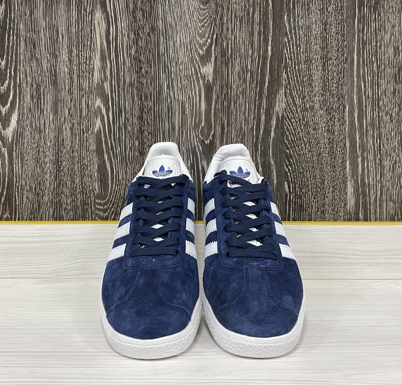 Кроссовки Adidas Gazelle(Dark Blue) - фото 4