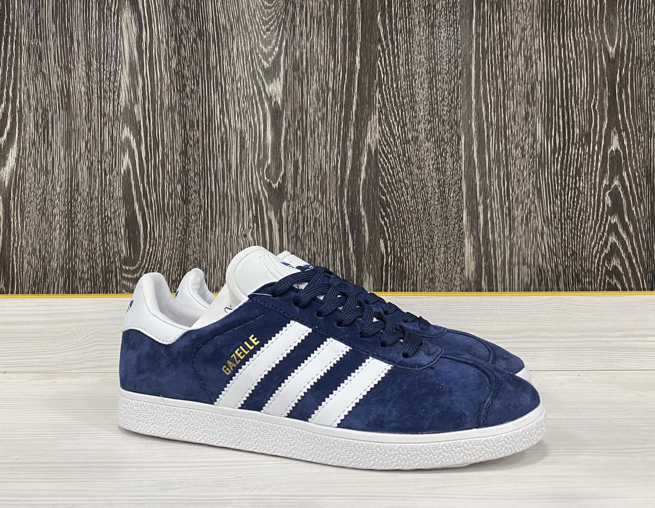 Кроссовки Adidas Gazelle(Dark Blue) - фото 3