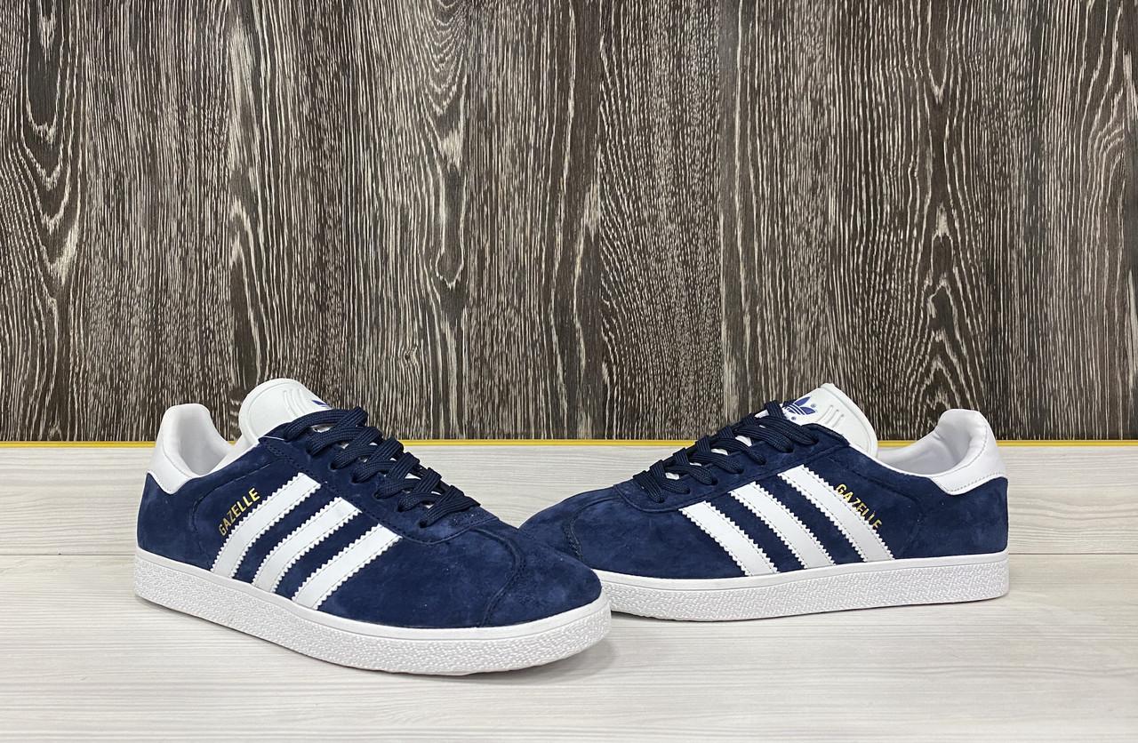 Кроссовки Adidas Gazelle(Dark Blue) - фото 2