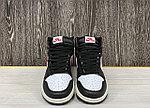 Баскетбольные кроссовки Air Jordan 1 Retro High 'Black Gym Red', фото 4