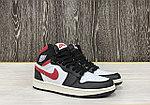 Баскетбольные кроссовки Air Jordan 1 Retro High 'Black Gym Red', фото 2