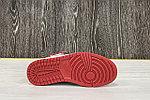 Баскетбольные кроссовки Air Jordan 1 Retro High 'Black White Red', фото 5
