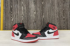 Баскетбольные кроссовки Air Jordan 1 Retro High 'Black White Red'