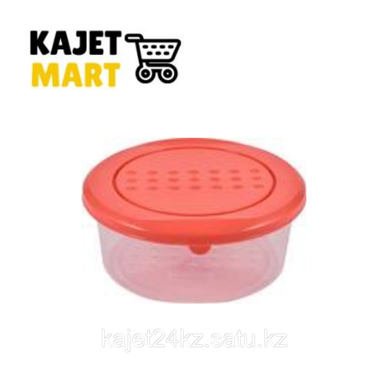 Емкость для хранения продуктов PATTERN круглая 0,5л коралловый
