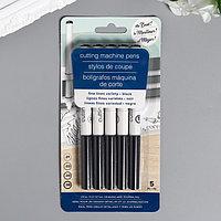 Набор ручек для плоттера American Craft - MachinePens для детального рисования - Цвет Чёрны 47353
