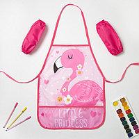 """Набор детский для творчества Collorista """"Little Princess"""" фартук 49 х 39 см и нарукавники"""