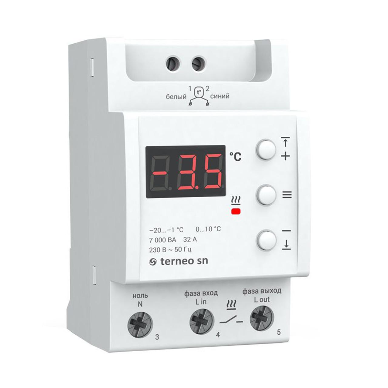 Терморегулятор Terneo SN, 32 А