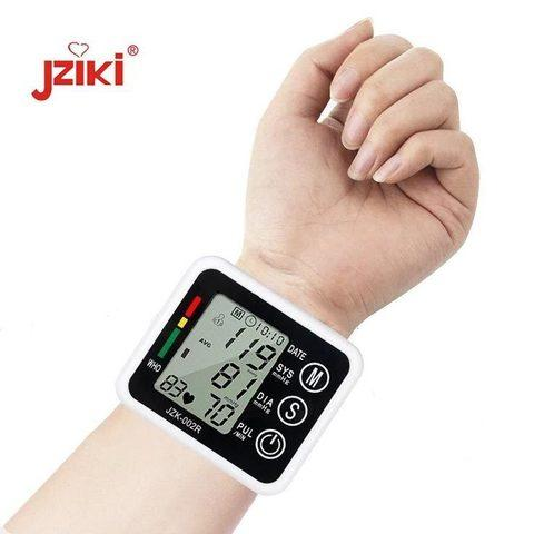 Тонометр осциллометрический цифровой автоматический JZIKI для измерения артериального давления и пульса (на - фото 6