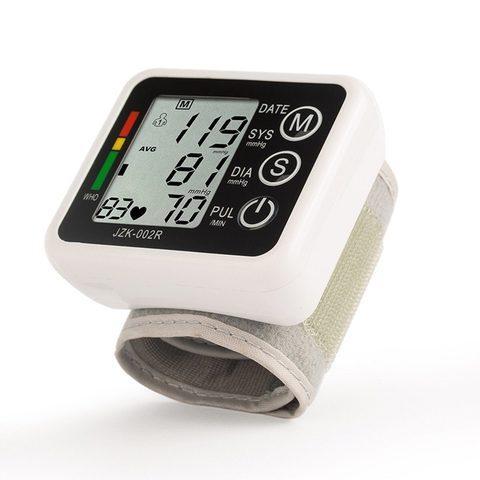 Тонометр осциллометрический цифровой автоматический JZIKI для измерения артериального давления и пульса (на - фото 7