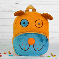 Мягкий рюкзак «Пёсик», рыжий носик