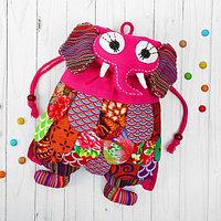 Мягкий рюкзак «Слон», лоскутный, цвета МИКС