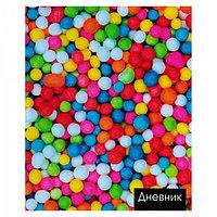 Дневник школьный, 5-11 класс «Конфеты», твёрдая обложка, глянцевая ламинация, 48 листов