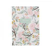 Тетрадь для записей А5, Подписные издания, художник Анжелика Герман Tender Flowers, 30 листов, клетка, 100 г/м²
