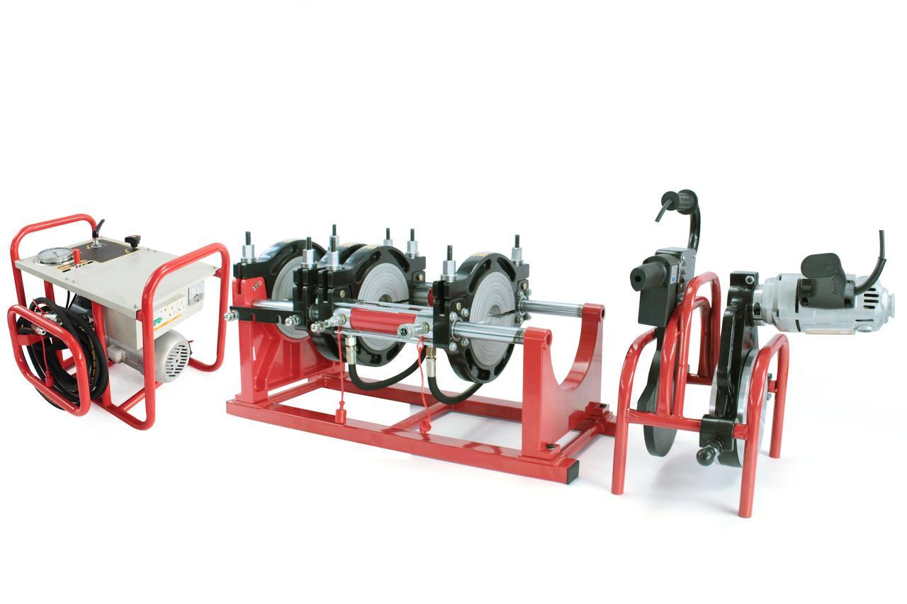 Аппарат для пайки пластиковых труб TW200-МAC от 63 до 200мм