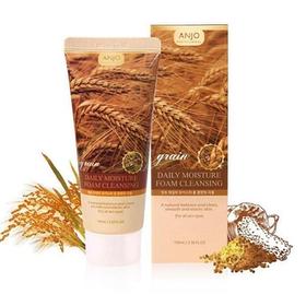 ANJO Professional Grain Daily Moisture Foam Cleansing Пенка для умывания с экстрактом злаков 100мл.