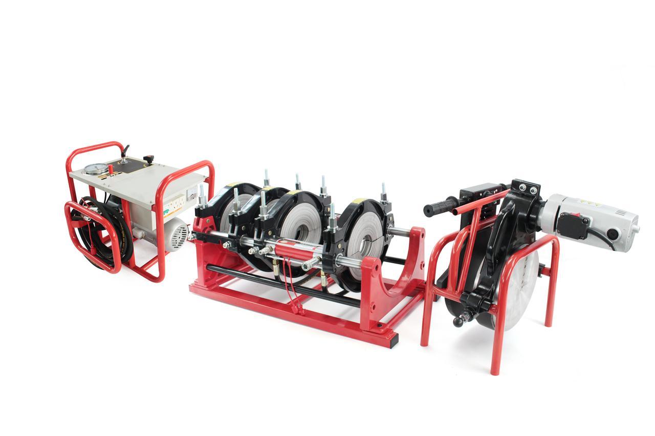 Аппарат для пайки пластиковых труб TW250-МAC от 63 до 250мм