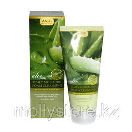 ANJO Professional Aloe Daily Moisture Foam Пенка для умывания с экстрактом алоэ 100мл