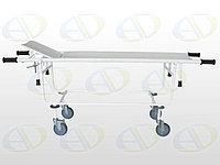 Тележка для перевозки  больных со съемной панелью ТБС-01  без подголовника колёса  150 мм