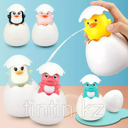 Яйцо-Лейка в виде Пингвина, Цыпленка или Дракончика на Ваш выбор!, фото 2
