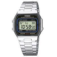 Электронные наручные часы Casio A164WA-1. Оригинал 100%. Классика. Kaspi RED. Рассрочка.