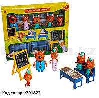 "Набор игрушек ""Три кота""  Назад в школу (Back to school) М-8812"