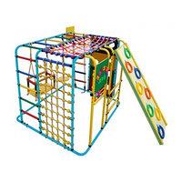 ДСК 'Кубик У Плюс' напольный для дома и улицы, 1210 x 1210 x 1150 мм, цвет голубой/радуга