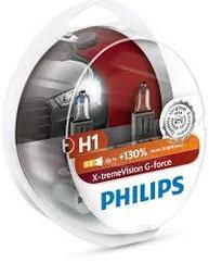 Лампа галогенная PHILIPS H1 X-treme Vision G-force