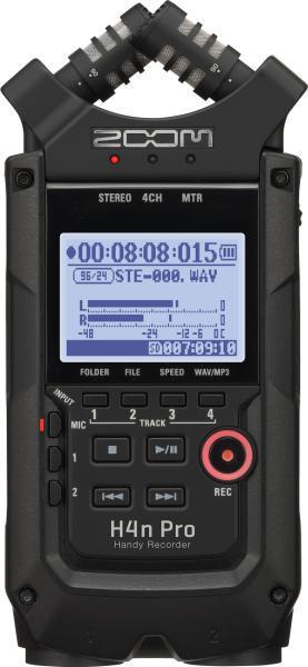 Многофункциональный портативный аудио рекордер на 4 дорожки, ZOOM H4n Pro - фото 2
