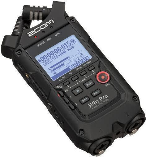 Многофункциональный портативный аудио рекордер на 4 дорожки, ZOOM H4n Pro - фото 1