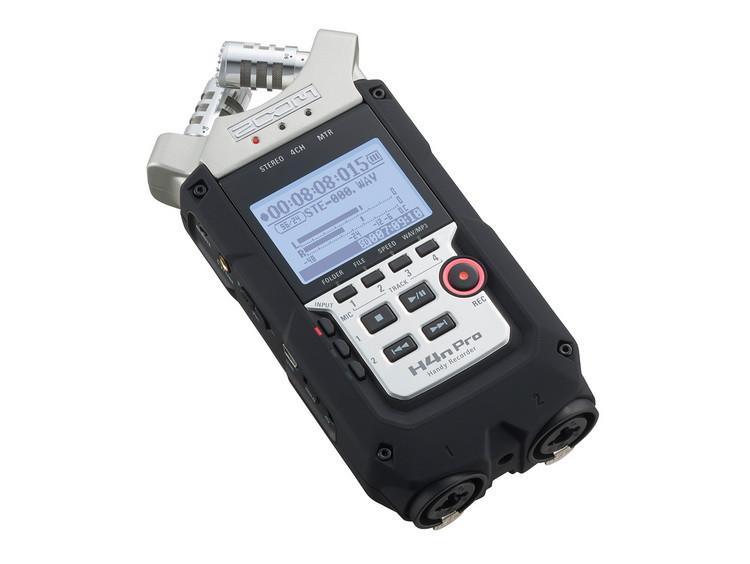 Многофункциональный портативный аудио рекордер на 4 дорожки, ZOOM H4n Pro - фото 4