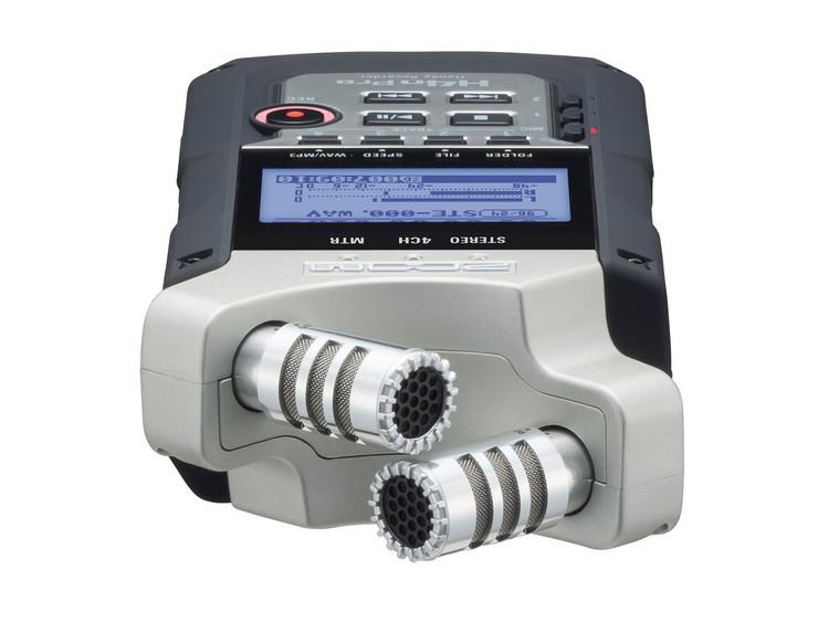 Многофункциональный портативный аудио рекордер на 4 дорожки, ZOOM H4n Pro - фото 5