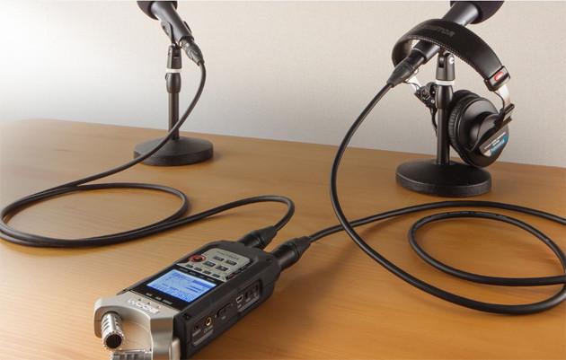 Многофункциональный портативный аудио рекордер на 4 дорожки, ZOOM H4n Pro - фото 7