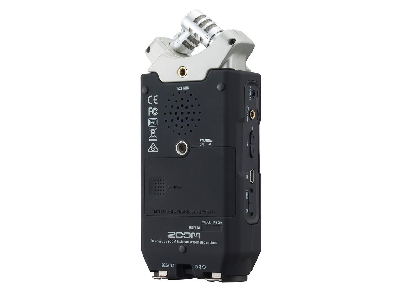 Многофункциональный портативный аудио рекордер на 4 дорожки, ZOOM H4n Pro - фото 9