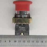 Кнопка промышленная с фиксацией (грибок) 1NC