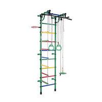 ДСК 'Гамма', 640 x 525 x 2300 мм, цвет зелёный/радуга
