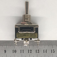 Тумблер 3 положения с фиксацией 15А 3 контакта